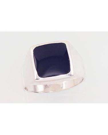 Sidabrinis žiedas vyrams2101576_ON, Sidabras925, Oniksas 0