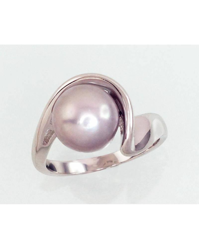 Sidabrinis žiedas(PRH-GR)_PE-GR, Sidabras925, rodis (padengti),  perlai 0