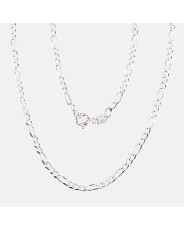 Sidabrinė grandinėlė (Grandinėlės nėrimas: Figaro, briaunų apdirbimas deimantu), Sidabras9250