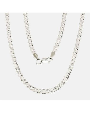 Sidabrinė apyrankės (Apyrankės nėrimas: Crandmother, briaunų apdirbimas deimantu), Sidabras9250