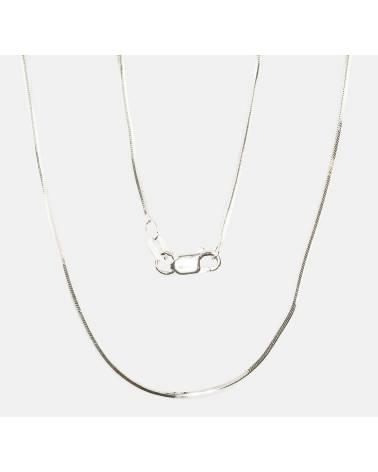 Sidabrinė grandinėlė (Grandinėlės nėrimas: Snake, briaunų apdirbimas deimantu), Sidabras9250