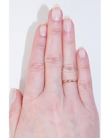 Auksinis sutuoktuvių žiedas(AU-R) (Žiedas storis 2mm), Raudonas auksas5852