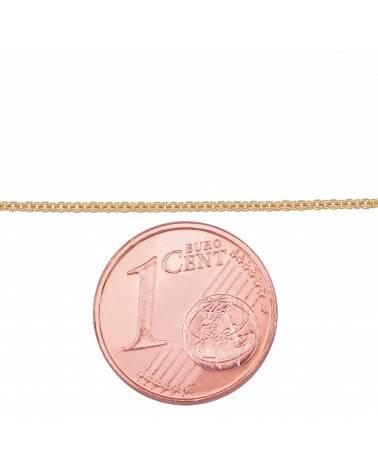 Auksinė grandinėlė(AU-Y) (Grandinėlės nėrimas: Anchor), Geltonas auksas5852