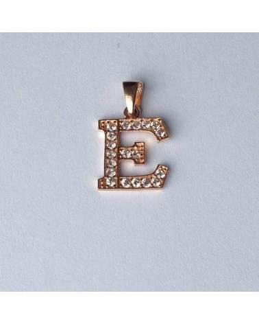 """Auksinis pakabukas vardo raidė  """"E"""""""