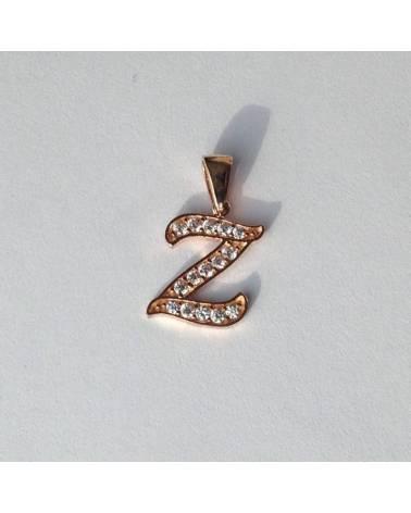 """Auksinis pakabukas vardo raidė """"Z"""""""