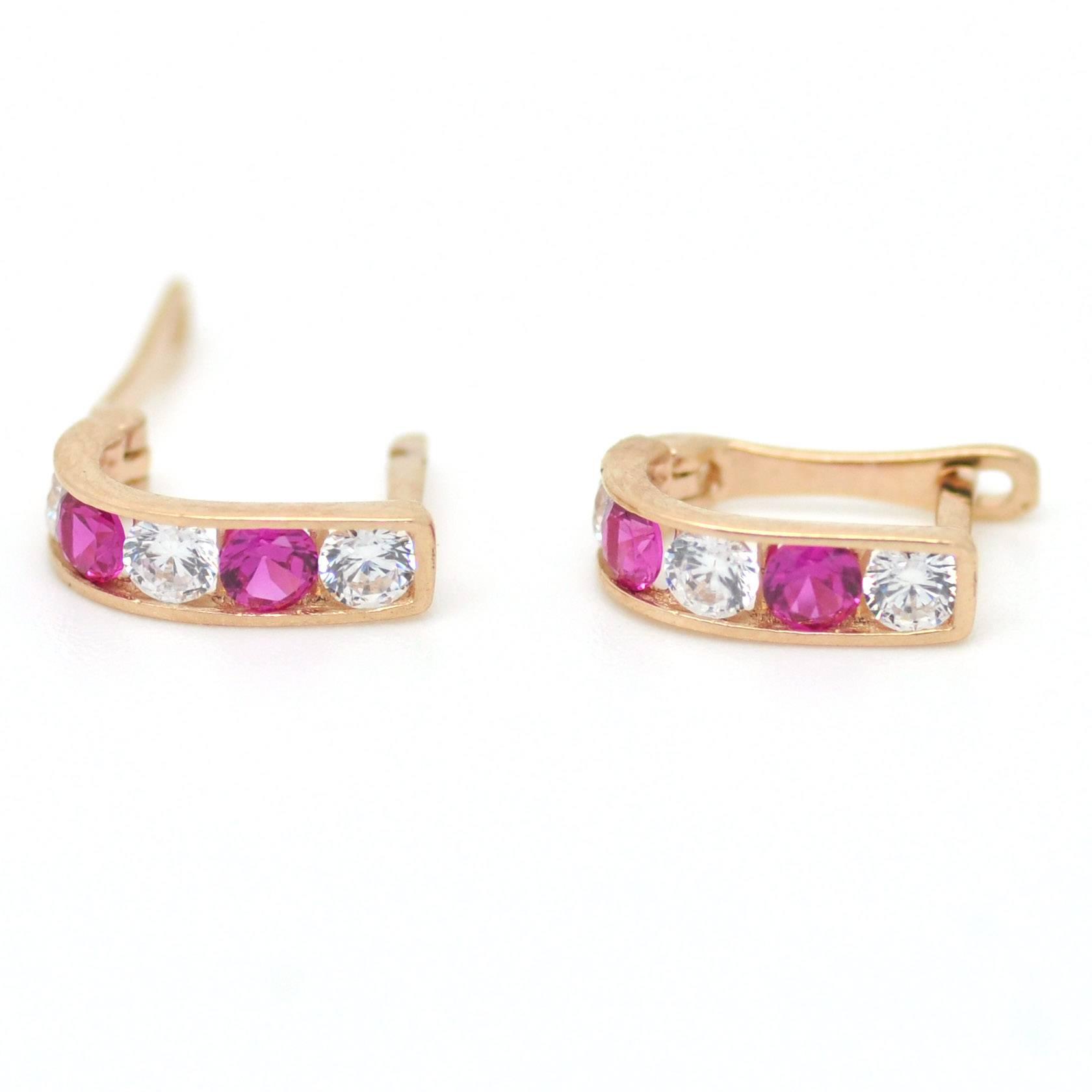 Auksiniai auskarai mergaitei