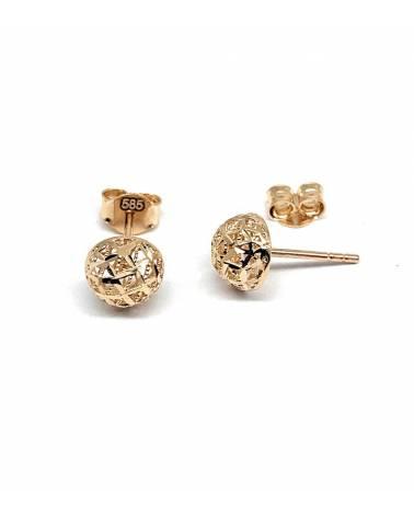 Auksiniai auskarai Vinukai