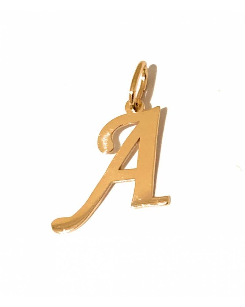 """Auksinis pakabukas vardo raidė """"A"""""""