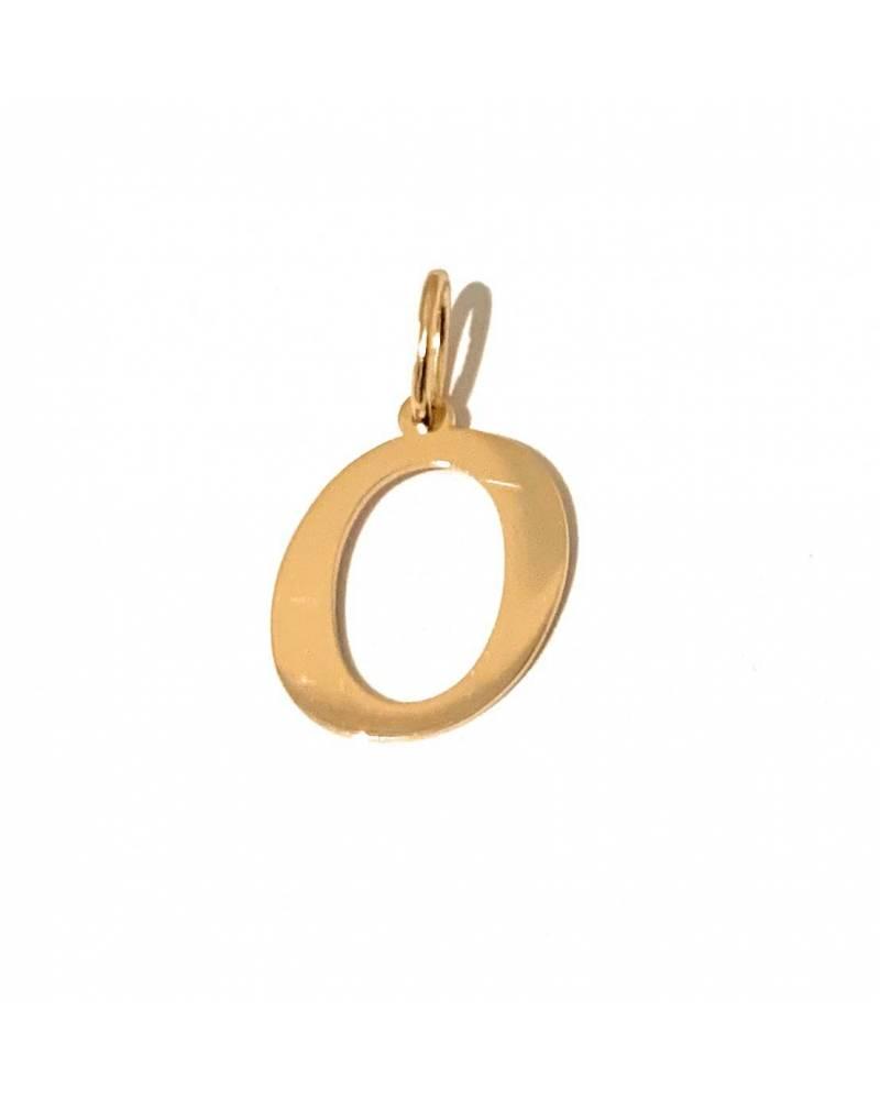 """Auksinis pakabukas vardo raidė """"O"""""""