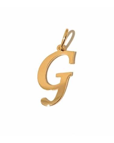 """Auksinis pakabukas vardo raidė  """"G"""""""