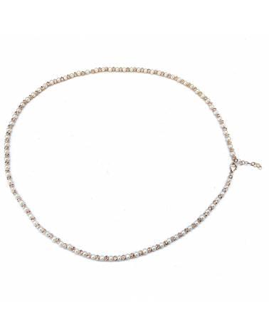Auksinė grandinėlė ir apyrankė su kultivuotais perlais