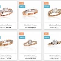 Tik iki lapkričio 10 dienos daugumai auksinių žiedų taikome 5% nuolaidą! Paskubėk išsirinkti https://www.e-juvelyrika.com/akcijos