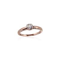 Savaitės naujiena.???? Raudono aukso sužadėtuvių žiedas su cirkoniu. Dydžiai 16, 16.5, 17, 17.5. Vidutinis svoris 1,5 g. Praba 585. Kaina 106 - 124€ http://bit.ly/2NB2N2O #auksas #ejuvelyrika #suzadetuves #ziedas #ciekonis #gold #ring #jewelry